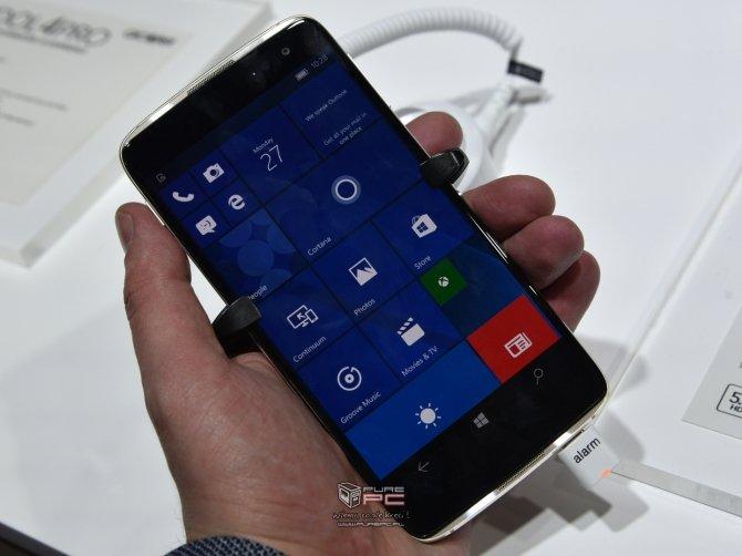 Alcatel zaprezentował na MWC kilka nowych modeli smartfonów  [8]