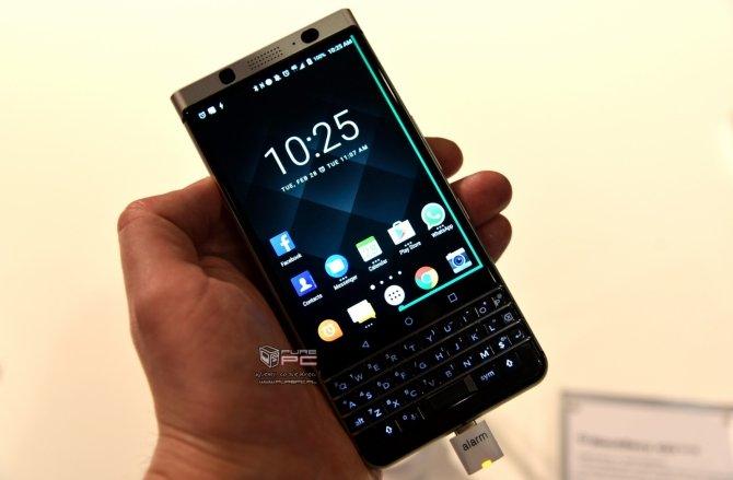 BlackBerry KEYone - premiera smartfona z fizyczną klawiaturą [3]