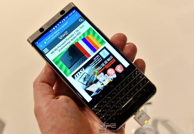 BlackBerry KEYone - premiera smartfona z fizyczną klawiaturą [6]