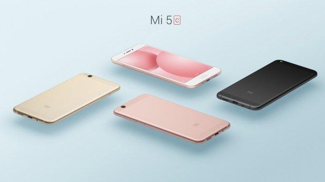 Xiaomi prezentuje smartfona Mi 5C z autorskim SoC Surge 1 [1]