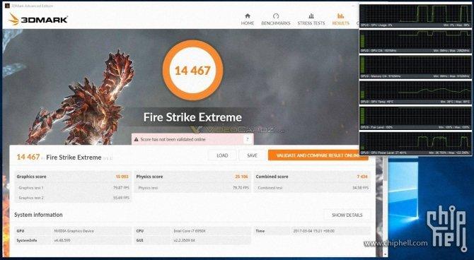 Pierwsze wyniki wydajności NVIDIA GeForce GTX 1080 Ti po OC [1]