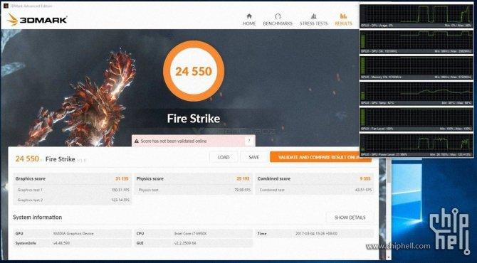 Pierwsze wyniki wydajności NVIDIA GeForce GTX 1080 Ti po OC [2]