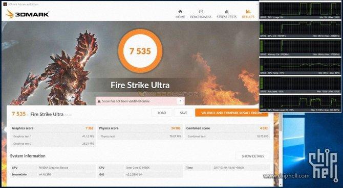 Pierwsze wyniki wydajności NVIDIA GeForce GTX 1080 Ti po OC [3]