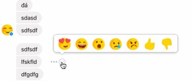 Facebook testuje reakcje w Messengerze - wśród nich dislike [1]