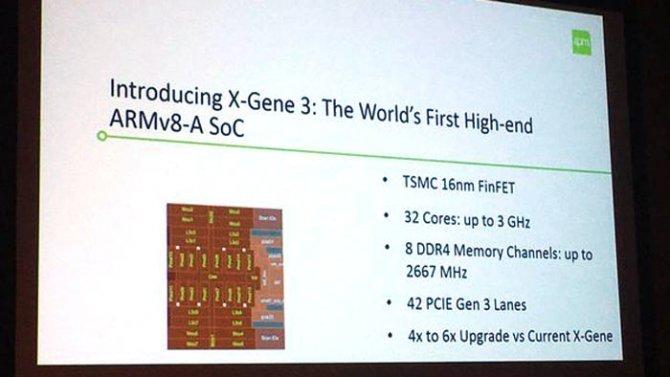 Macom X-Gene 3 - superszybki procesor ARM dla serwerów [1]