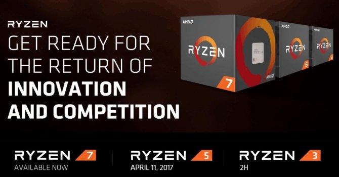 AMD Ryzen 5 - znamy datę premiery oraz ceny procesorów [2]