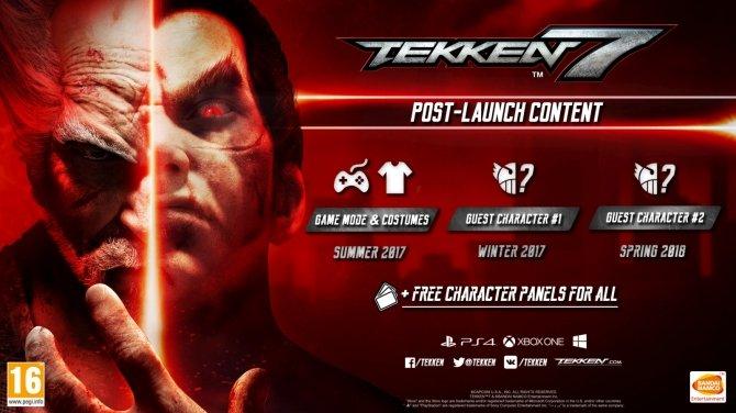 Tekken 7 - producent zapowiedział nadchodzące DLC [1]