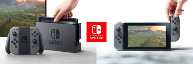 Nintendo Switch korzysta z układu SoC NVIDIA Tegra X1 [1]