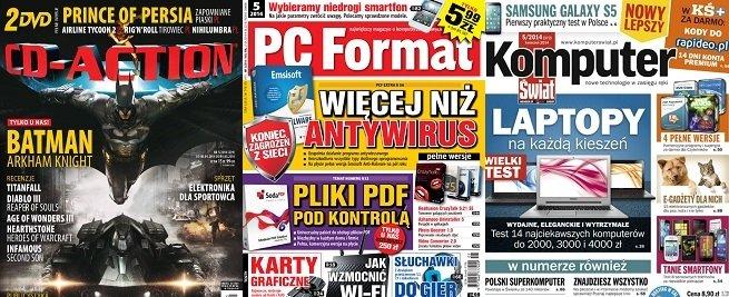 Sprzedaż czasopism komputerowych w Polsce ciągle spada [1]