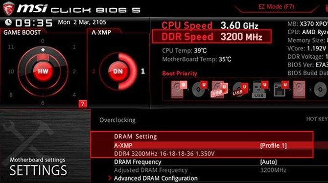 MSI A-XMP - optymalna konfiguracja RAMu jednym kliknięciem [1]