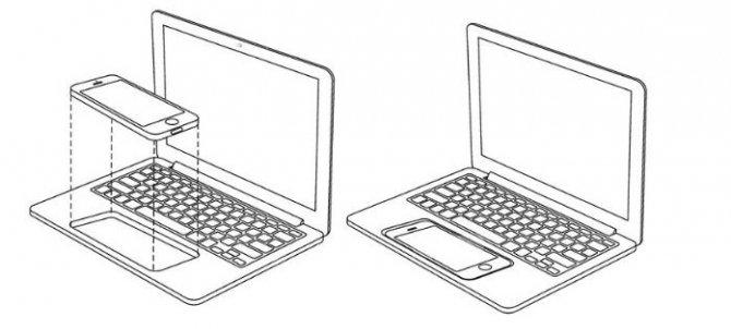 Apple opatentował dokowanie smartfonów i tabletów w laptopie [1]