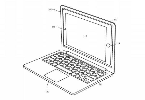 Apple opatentował dokowanie smartfonów i tabletów w laptopie [2]