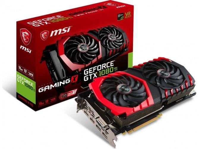 MSI GeForce GTX 1080 Ti Gaming X - Niereferencyjny Pascal [1]