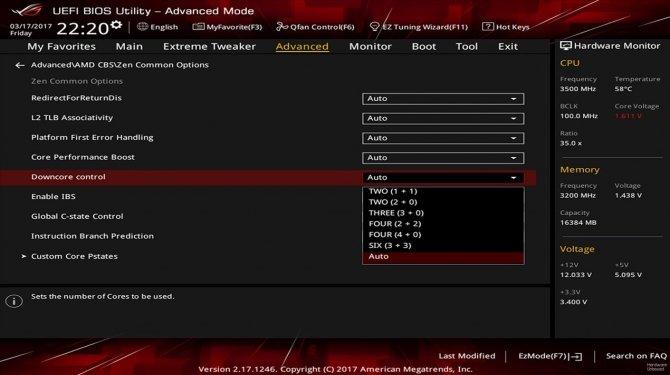 AMD Ryzen - chip przetestowany w konfiguracjach 2+2 i 4+0 [1]