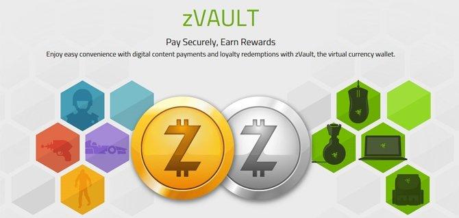 Razer będzie wynagradzał graczy wirtualną walutą zVAULT [1]