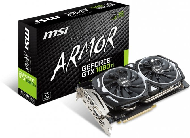 MSI przedstawia kolejne autorskie modele GeForce GTX 1080 Ti [1]