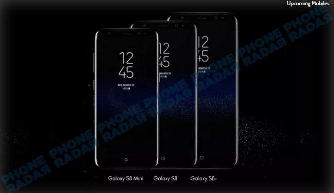 Samsung przygotowuje 5,3-calowego Galaxy S8 mini? [1]