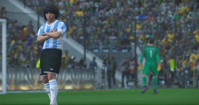 Diego Maradona pozywa twórców gry Pro Evolution Soccer [1]