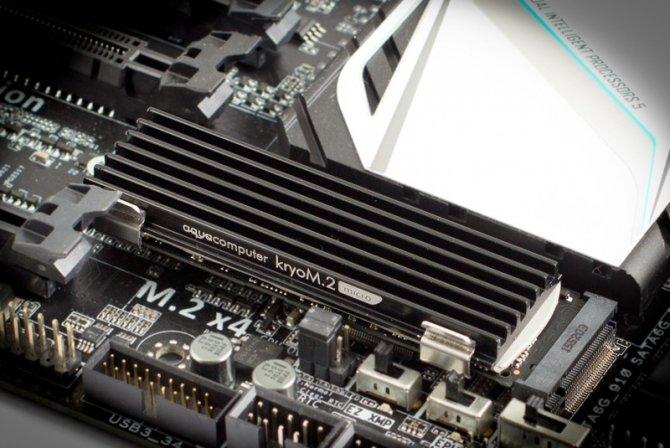 Aqua Computer kryoM.2 - układy chłodzenia na dyski SSD M.2 [1]