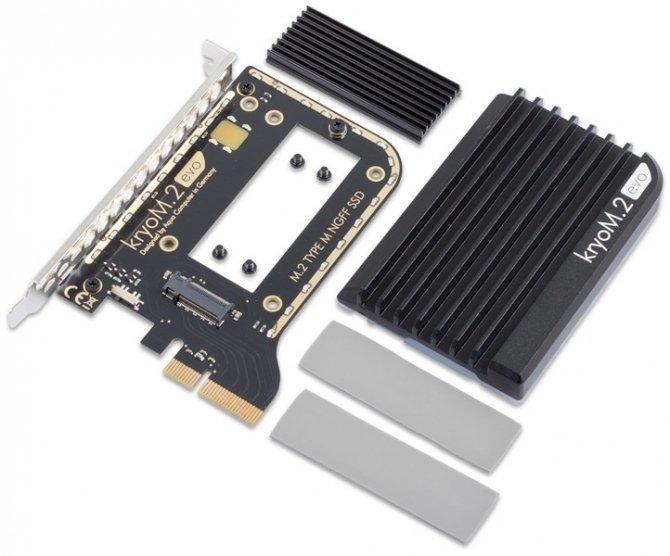 Aqua Computer kryoM.2 - układy chłodzenia na dyski SSD M.2 [2]