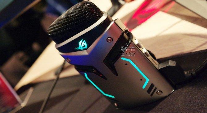 ASUS ROG Strix Magnus - pierwszy mikrofon z LED RGB [1]