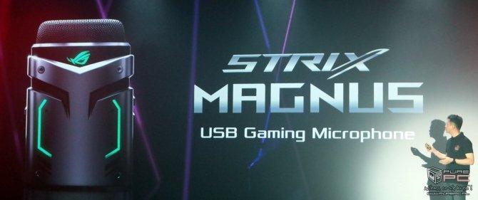 ASUS ROG Strix Magnus - pierwszy mikrofon z LED RGB [2]