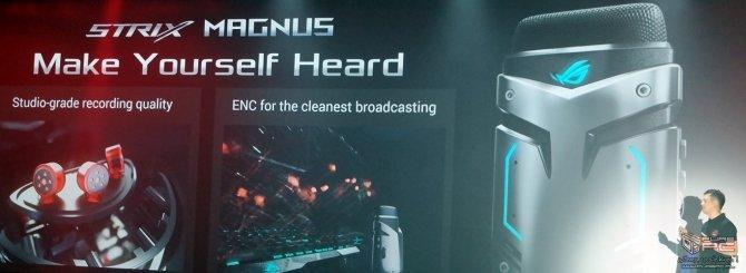 ASUS ROG Strix Magnus - pierwszy mikrofon z LED RGB [3]