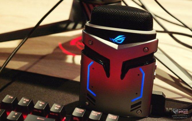 ASUS ROG Strix Magnus - pierwszy mikrofon z LED RGB [4]
