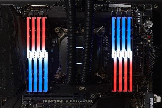 G.SKILL Trident Z RGB - nowe moduły RAM DDR4 3333MHz 128GB [1]