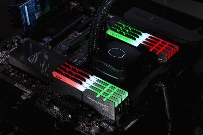G.SKILL Trident Z RGB - nowe moduły RAM DDR4 3333MHz 128GB [3]