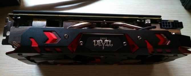 Dwuipółslotowy PowerColor RX 580 Red Devil Golden Sample [2]