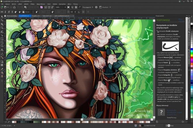 CorelDRAW Graphics Suite 2017 - nowy kombajn graficzny z SI [2]
