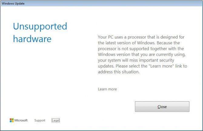 Masz Ryzena/Kaby Lake? Nie zaktualizujesz Windows 7 i 8.1 [1]
