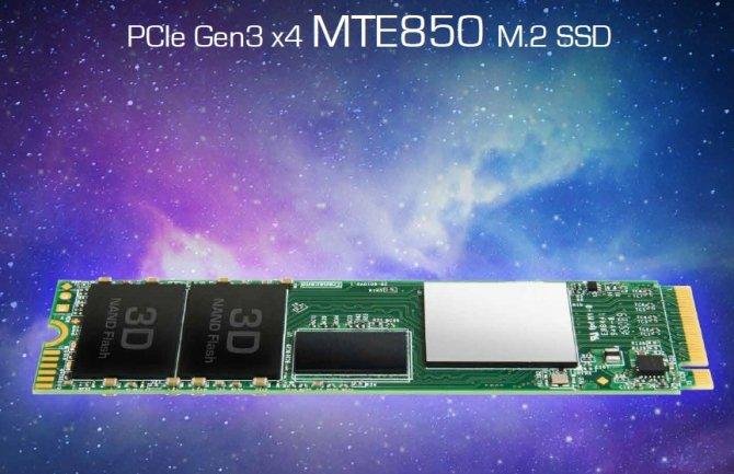 Transcend MTE850 - SSD NVMe M.2 z kośćmi 3D NAND MLC [2]