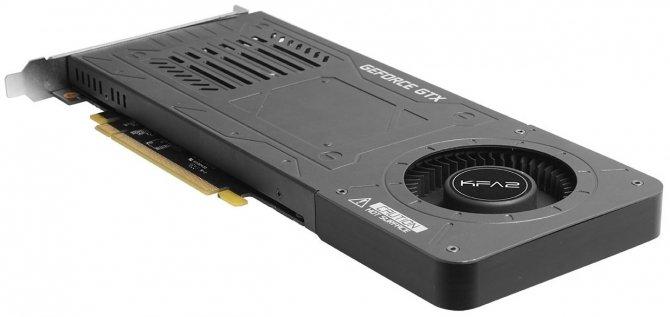 Jednoslotowy GeForce GTX 1070 od KFA2 debiutuje w Europie [2]
