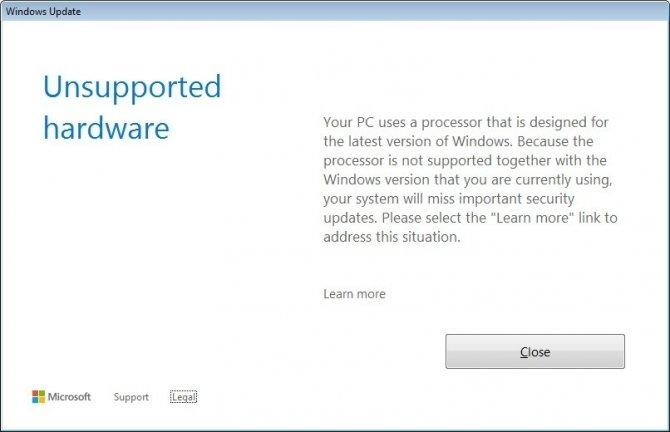 Aktualizacja Windows 7 oraz 8.1 z Ryzenem i Kaby Lake [1]
