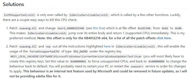 Aktualizacja Windows 7 oraz 8.1 z Ryzenem i Kaby Lake [2]