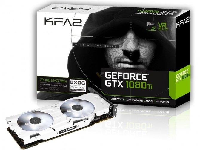 Galax/KFA2 GeForce GTX 1080 Ti EXOC w białym wydaniu [1]