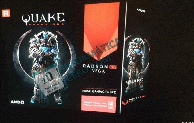 Wyciekło opakowanie Radeona RX Vega Quake Champions Edition [1]