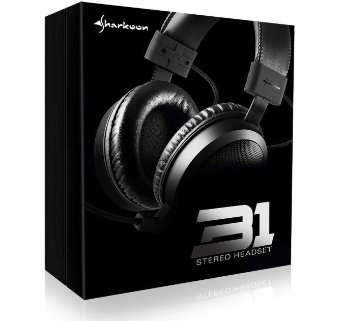 Sharkoon B1 - niedrogi zestaw słuchawkowy dla graczy [2]