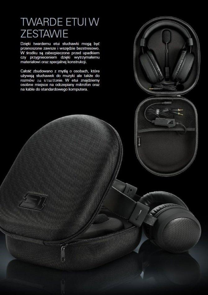 Sharkoon B1 - niedrogi zestaw słuchawkowy dla graczy [3]