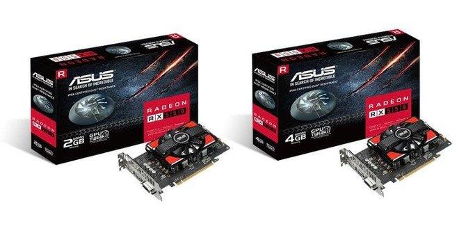 ASUS rozszerza swoją ofertę kart o dwa modele RX 550 [1]