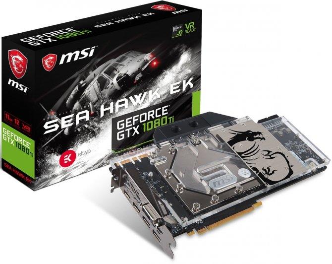 MSI GTX 1080 Ti SeaHawk EK X - karta pod chłodzenia wodne [4]