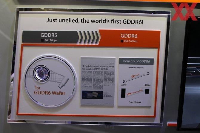 SK Hynix prezentuje pamięci GDDR6 - znamy specyfikację [1]