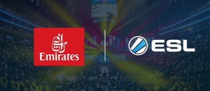 Emirates Airline nawiązało współpracę z e-sportową ligą ESL [1]