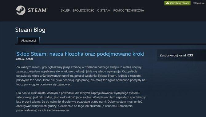 Steam - jak ma działać idealny sklep? Valve ma pewien pomysł [2]