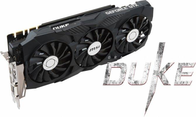 MSI GeForce GTX 1080 Ti DUKE - książęca karta graficzna [1]
