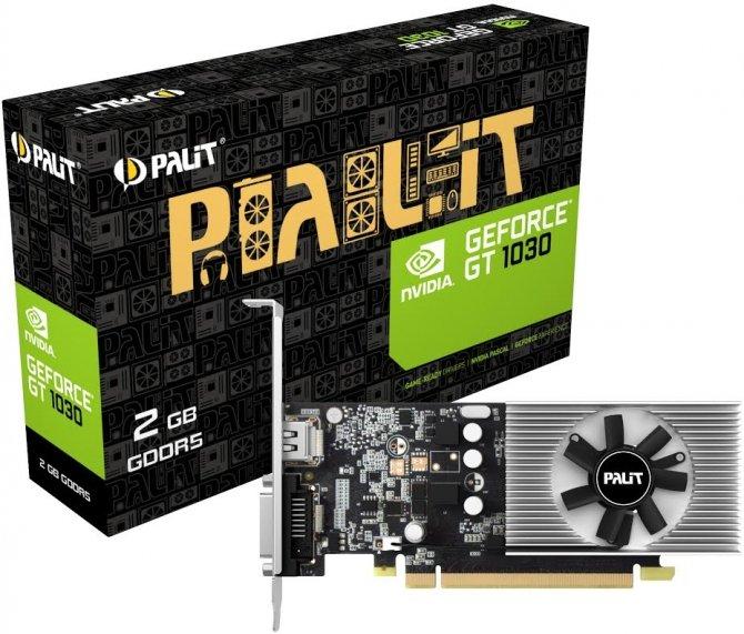 Palit GeForce GT 1030 - Kolejna propozycja niskoprofilowa  [1]