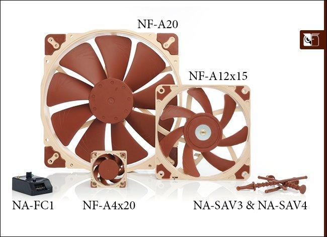 Noctua przedstawia nową A-serię wentylatorów i akcesoriów [1]