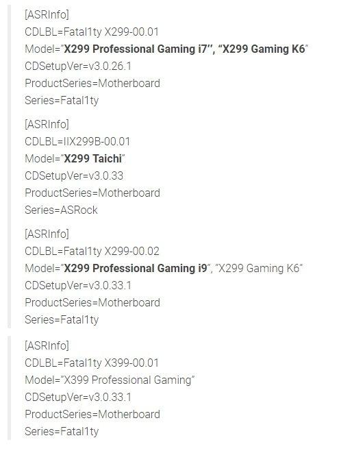AsRock planuje wydanie płyt z chipsetami X299 i X399 [1]